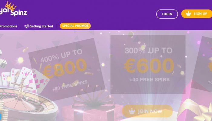 Avis Royal Spinz casino : revue complète sur ce casino en ligne