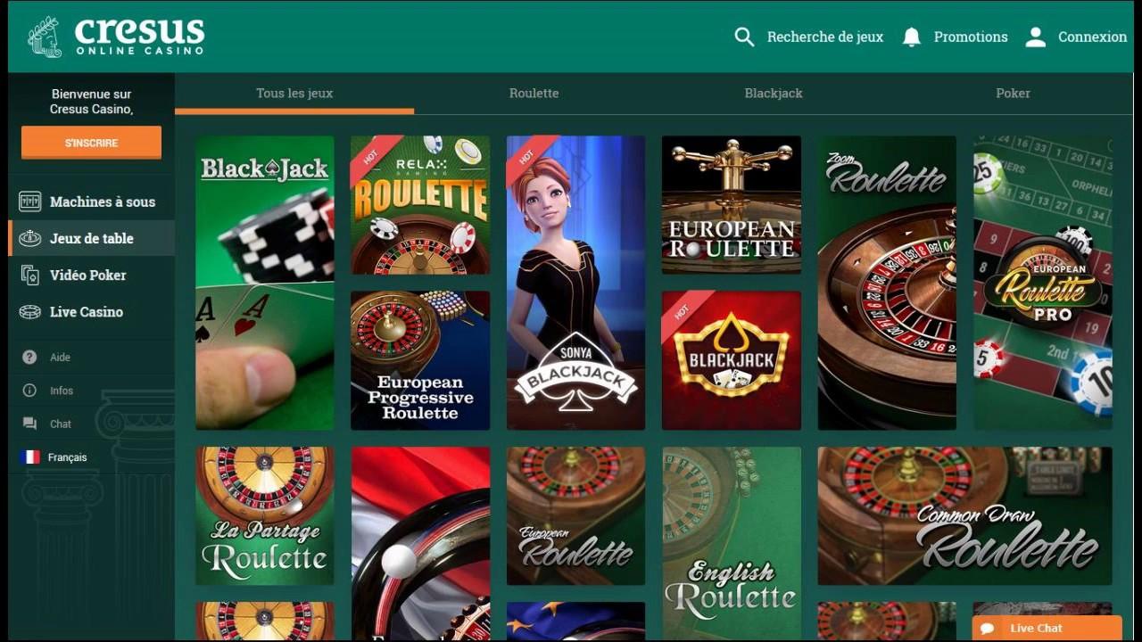 Avis Cresus Casino : bon plan ou arnaque ?
