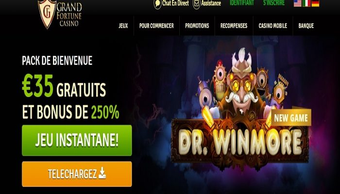 Avis Grand Fortune casino : revue complète
