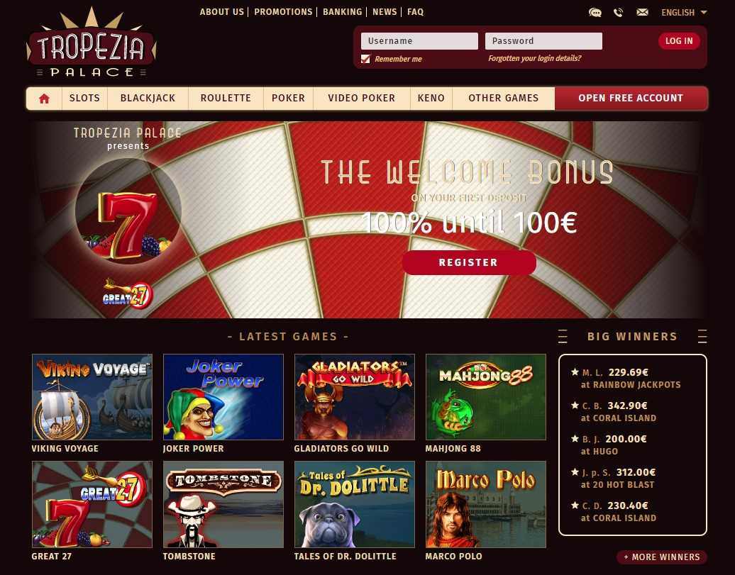 Avis Tropezia Palace casino : notre revue