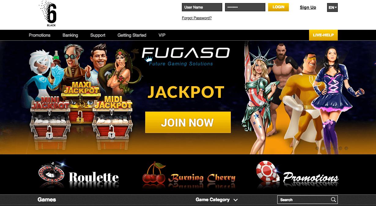 6Black casino avis : on vous dit tout sur cette plateforme
