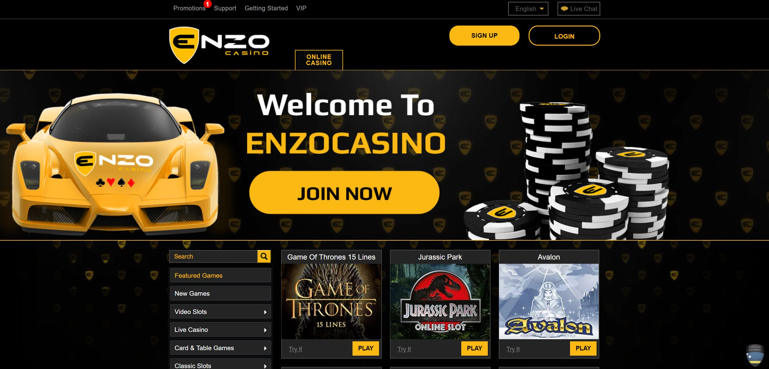 enzo casino avis