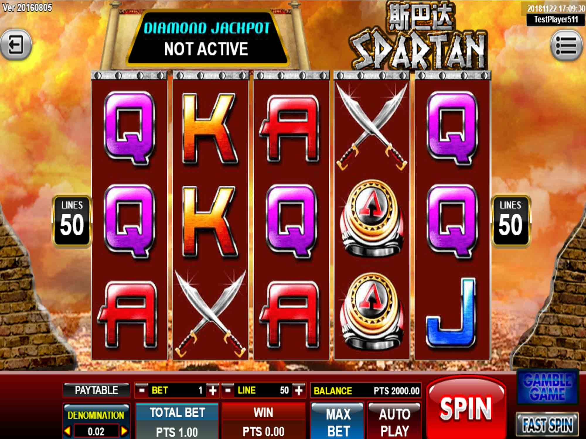 Spartan Slot