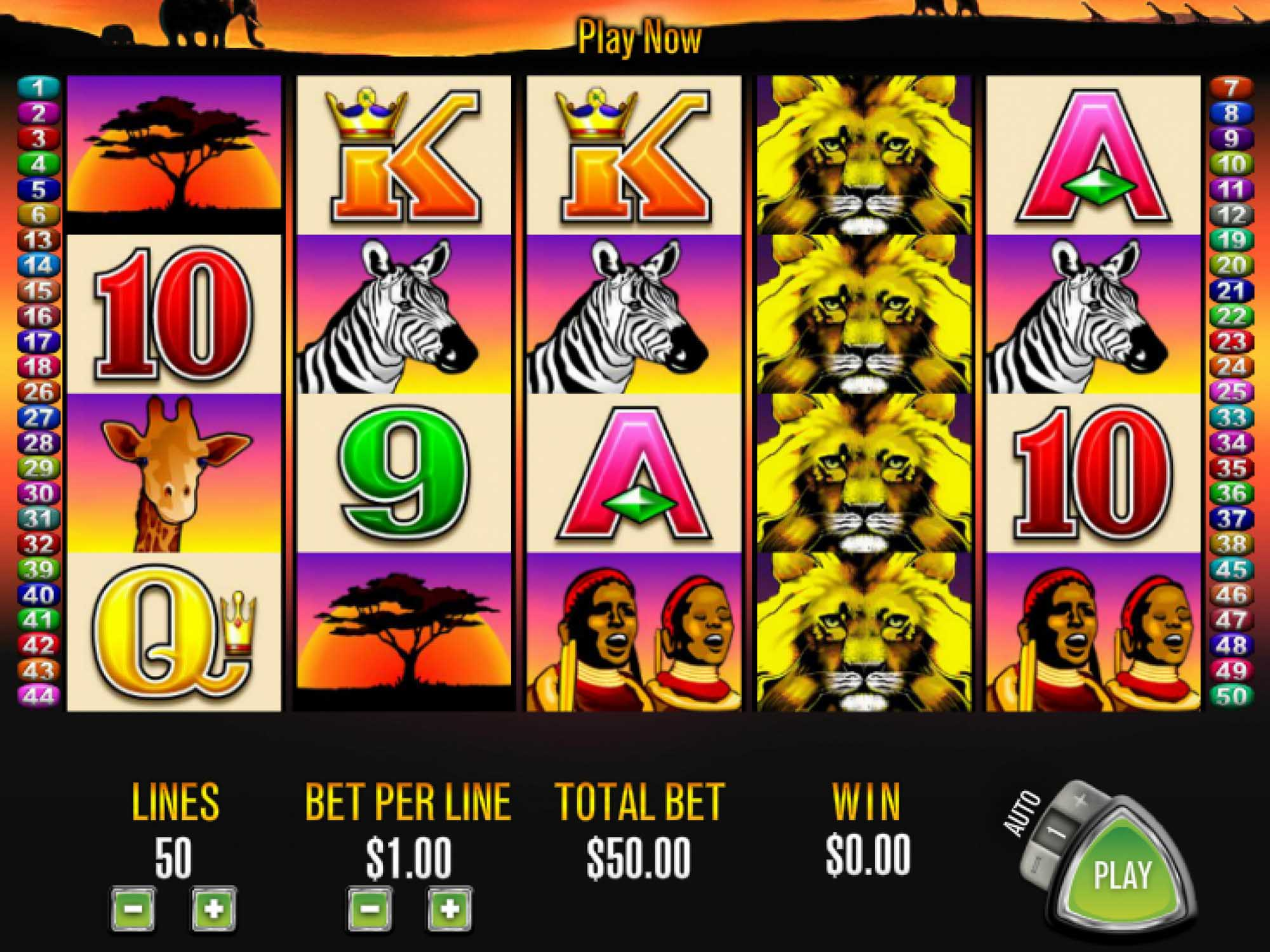 50 Lions : comment remporter le jackpot ?