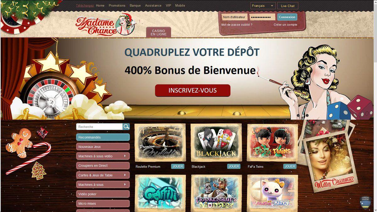 Madame Chance avis : bénéficiez de plus de 2 400 € de bienvenue !