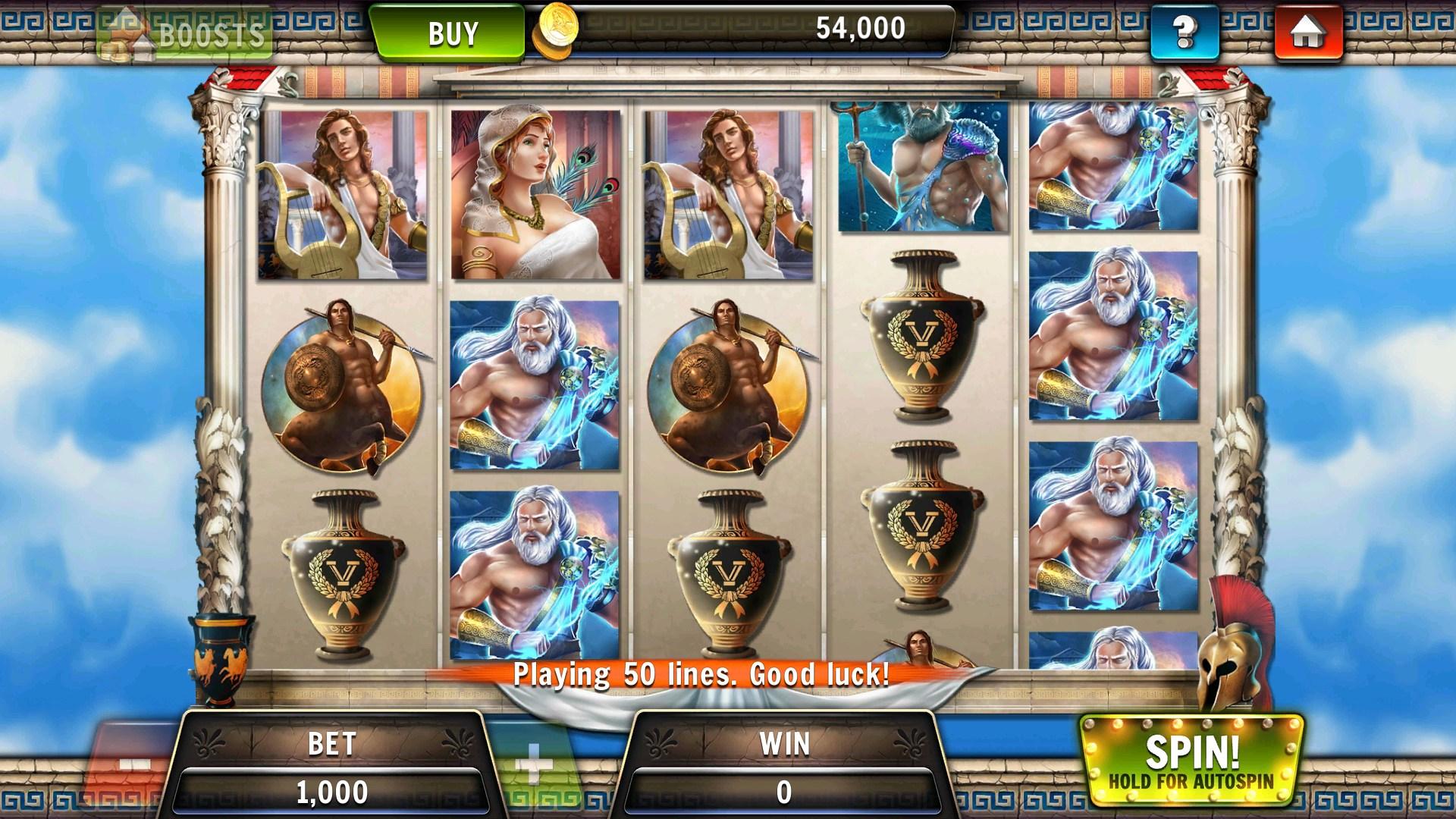 Machine à sous gratuite Zeus : des gains intéressants ?